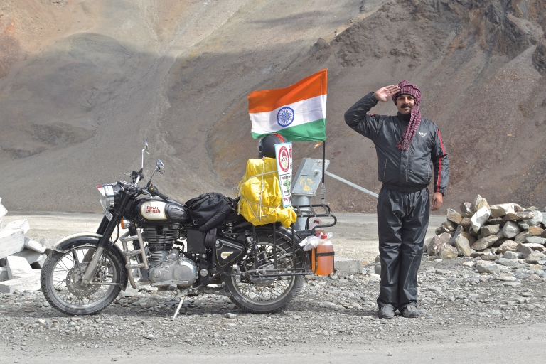salute india motorcycle