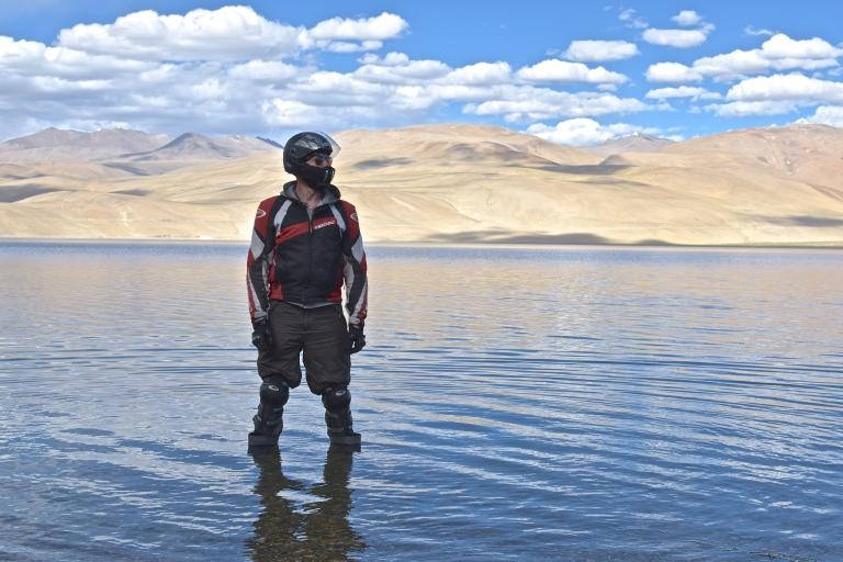 biker lake india
